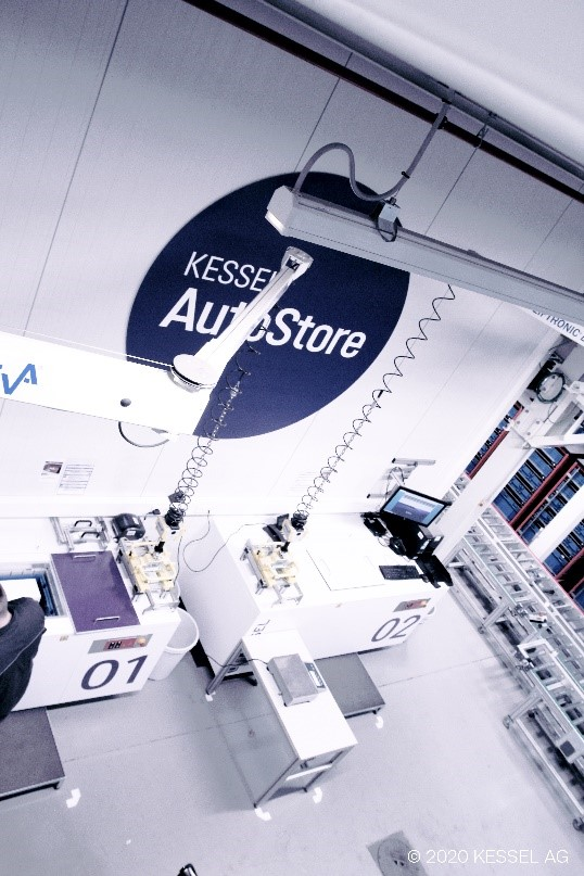 Seamlessly integrated: Kessel relies on inconso's SAP know-how for warehouse expansion