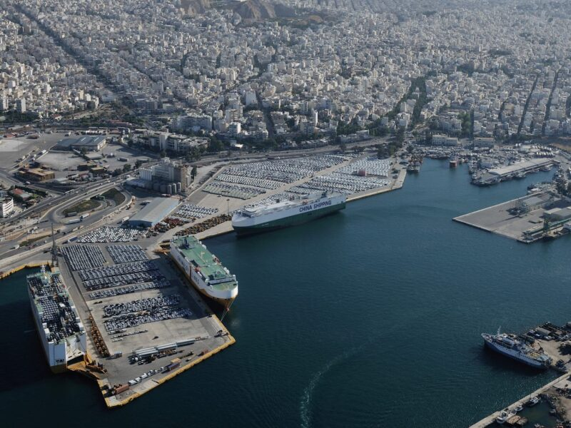 Port of Piraeus vehicle logistics goes digital with INFORM